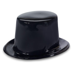 TOP HAT COLOURED PLASTIC - CHOOSE COLOURS HERE