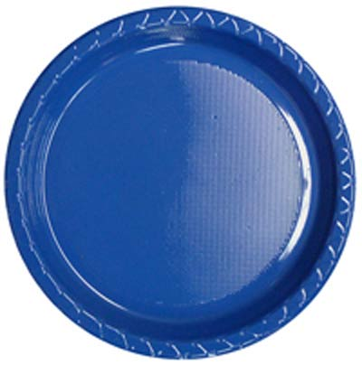 DISPOSABLE DINNER PLATE - BLUE PACK OF 25