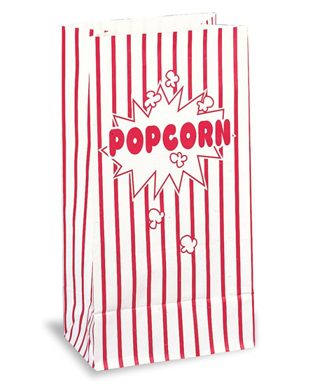 POPCORN PAPER LOOT BAG - PACK OF 10