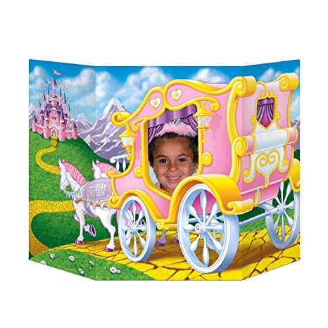 PHOTO PROP - PRINCESS IN A GOLDEN CARRIAGE
