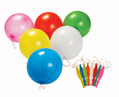 PUNCHING BALL BALLOONS PACK OF 3