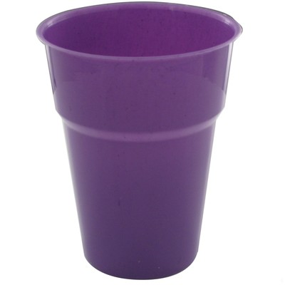 DISPOSABLE CUPS - PURPLE PACK 25