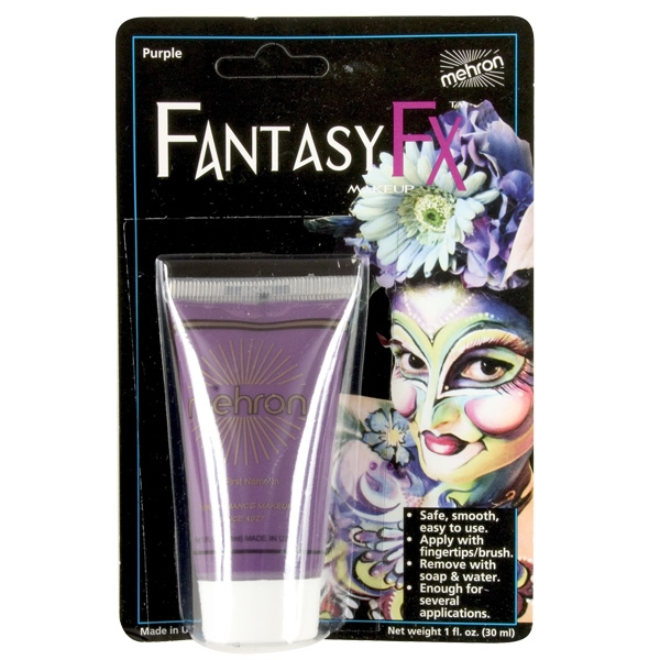 FANTASY FX FACE PAINT MAKEUP PURPLE - 30ML