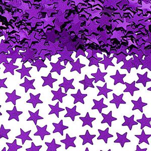 TABLE SCATTERS - PURPLE STARS
