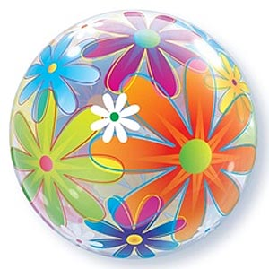 BUBBLE BALLOON - FANCIFUL FLOWERS