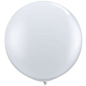 BALLOONS LATEX - JEWEL TONE DIAMOND CLEAR 3' ROUND
