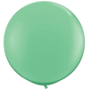 BALLOONS LATEX - FASHION TONE WINTERGREEN 3' ROUND