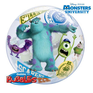 BUBBLE BALLOON - MONSTERS UNIVERSITY