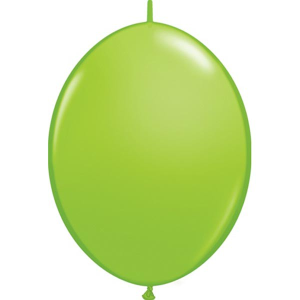 BALLOONS LATEX - QUICK LINK FASHION TONE LIME GREEN PACK OF 50