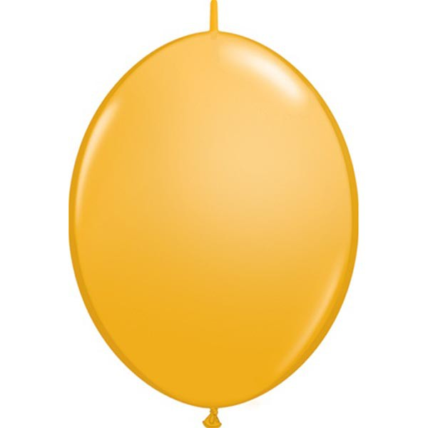 BALLOONS LATEX - QUICK LINK STANDARD ORANGE PACK OF 50