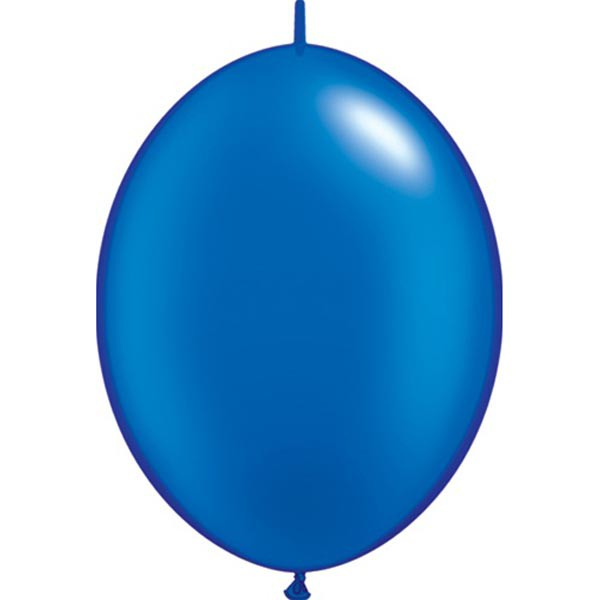BALLOONS LATEX - QUICK LINK PEARL SAPPHIRE BLUE PACK OF 50