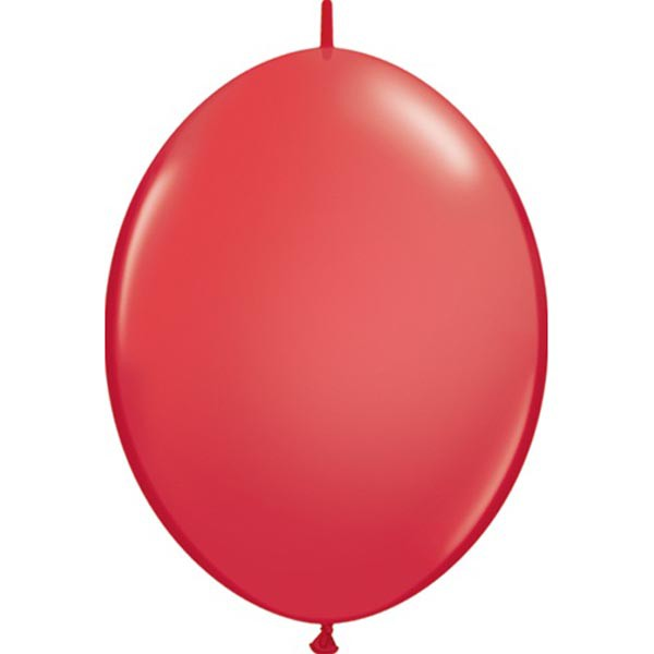 BALLOONS LATEX - QUICK LINK STANDARD RED PACK OF 50