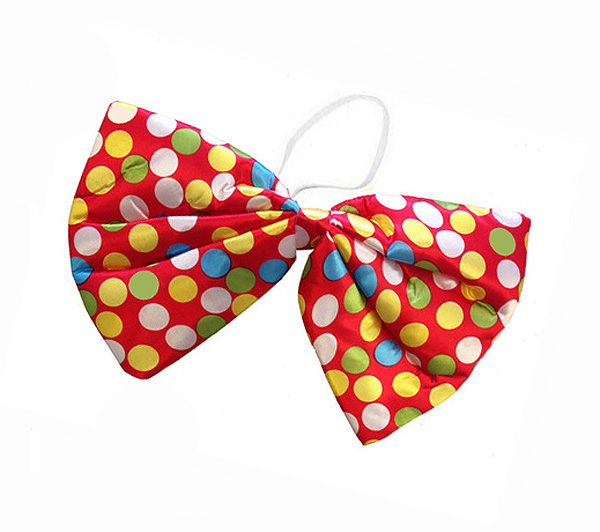 LARGE CLOWN BOW TIE