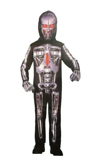 Image of BOYS METAL ROBOT HALLOWEEN COSTUME 8-10