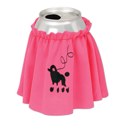 ROCK 'N ROLL POODLE DRINK SKIRT