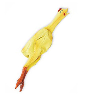 RUBBER CHICKEN PROP
