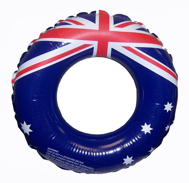 AUSSIE INFLATABLE SWIM RING