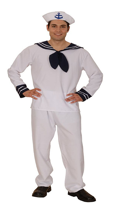 SAILOR MAN FANCY DRESS COSTUME