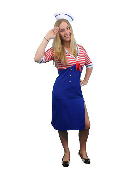 SAILOR GIRL SEXY DELUXE COSTUME