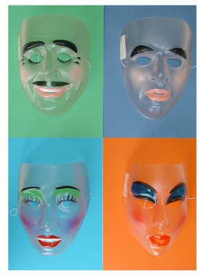 MASK - SECRET AGENT MASKS