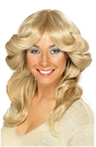 70'S HONEY BLONDE FLICK WIG - FARAH FAWCETT SYTLE