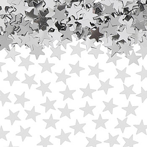 TABLE SCATTERS - SILVER STARS