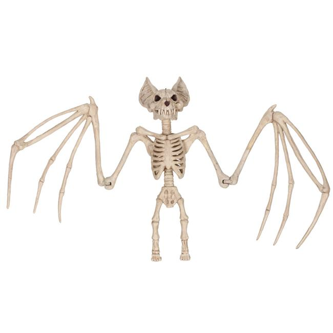 MINI SKELETON BATS - SET OF 12