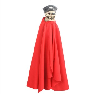 SNARLING PIRATE HANGING PUPPET DECORATION