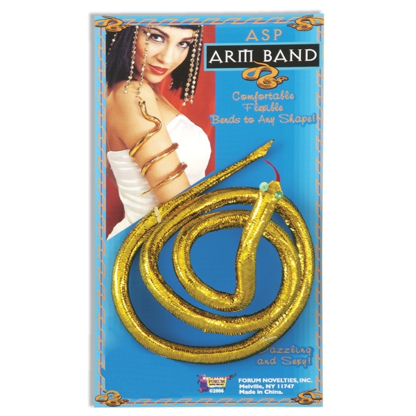 EGYPTIAN SNAKE GOLD ARM BAND