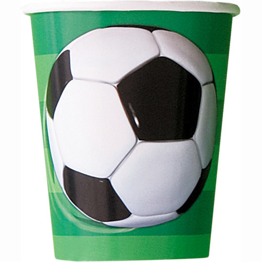 SOCCER CUPS PACK OF 8