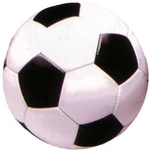 SOCCER BALL CUT OUT PK 1