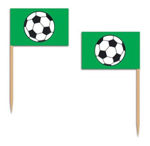 SOCCER BALL TOOTH PICKS