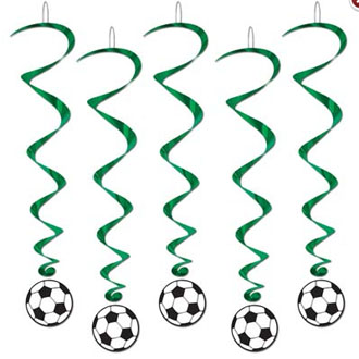 SOCCER WHIRLS PACK OF 5