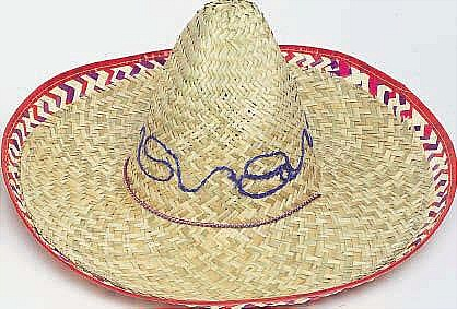 Image of Mexican Sombrero  Patterned
