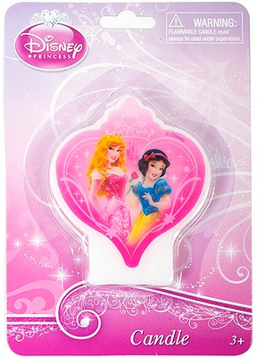DISNEY PRINCESS SPARKLE CANDLE