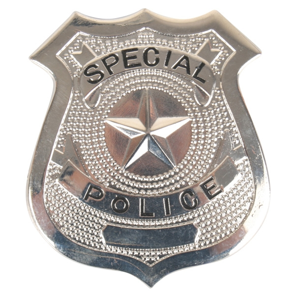 SPECIAL POLICE METAL PIN ON BADGE