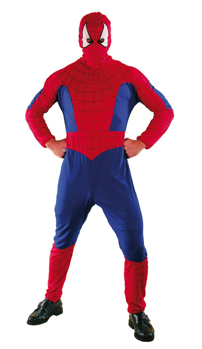 SPIDERMAN ADULT COSTUME - ONE SIZE