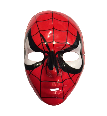 SPIDERMAN FACE MASK - CHILD