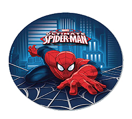 SPIDERMAN ULTIMATE DINNER PLATES - PACK OF 8