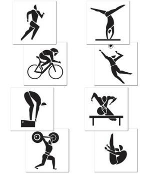 SUMMER SPORT CUTOUTS