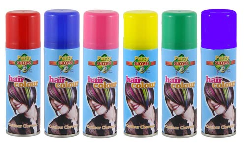 HAIR SPRAY - STANDARD COLOURS