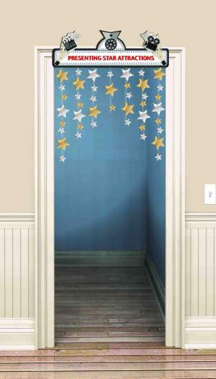 MOVIE/HOLLYWOOD DOOR CURTAIN DECORATION