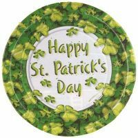 Image of St Patrick's Day Plates  Large