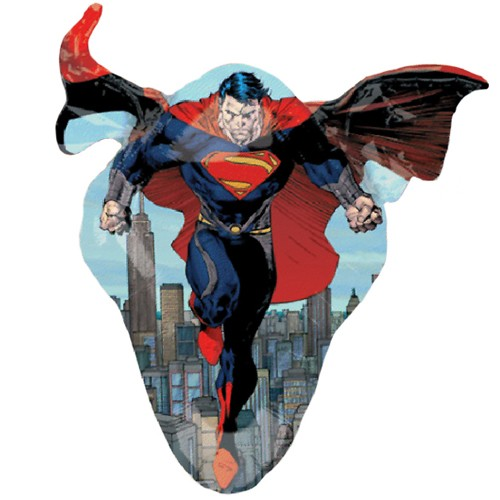 FOIL SUPER SHAPE BALLOON - SUPERMAN