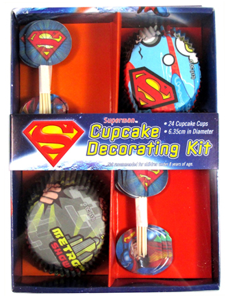 SUPERMAN CUP CAKE KIT