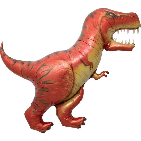 FOIL SUPER SHAPE BALLOON - T-REX DINOSAUR