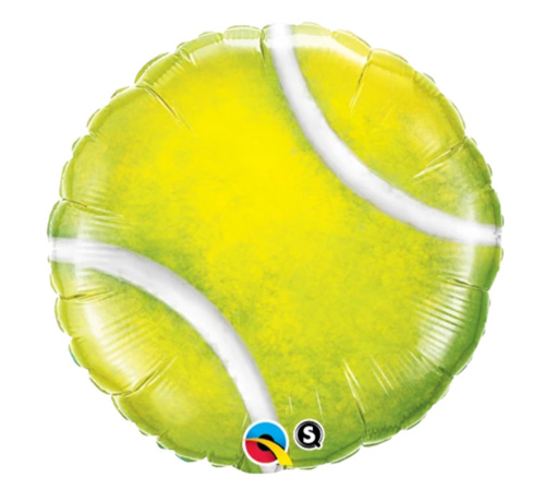 FOIL BALLOON - TENNIS BALL