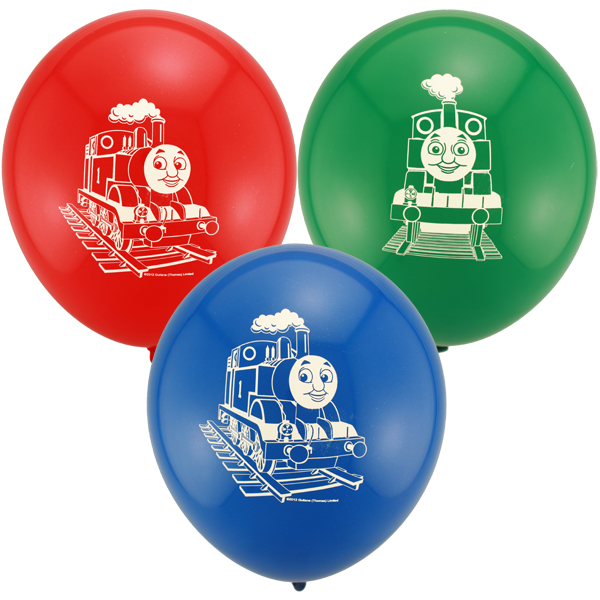 BALLOONS LATEX - THOMAS THE TANK ENGINE PACK 9 - LAST 2 PACKS