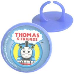 THOMAS THE TANK NOVELTY RINGS PACK 10