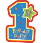 1st Birthday Party Supplies - Boy